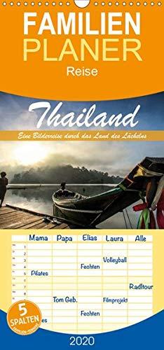 Thailand - Eine Bilderreise durch das Land des Lächelns - Familienplaner hoch (Wandkalender 2020 , 21 cm x 45 cm, hoch): Traumhafte Aufnahmen aus dem Land des Lächelns (Monatskalender, 14 Seiten )