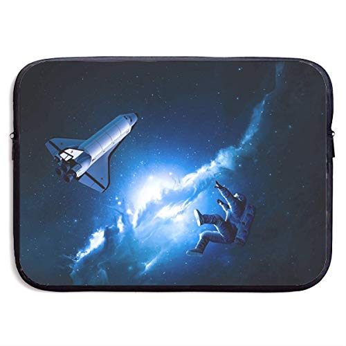 Fashion Computer Liner Sleeve Case Space Astronaut with Rocket for MacBook Pro/MacBook Air/Asus/Dell,13inch