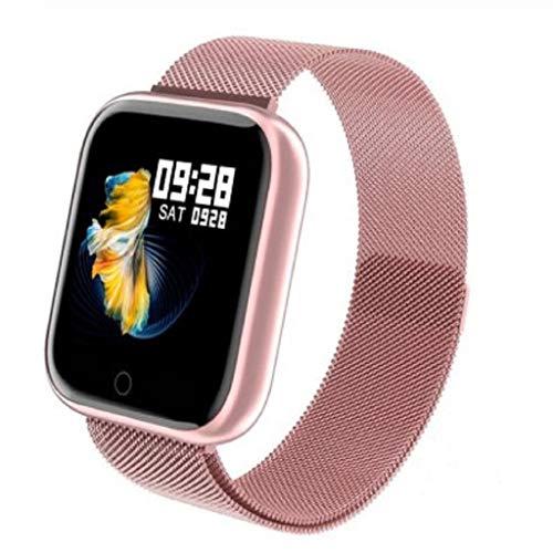 IPOTCH Smart Watch Orologio da Polso Activity Tracker 33mm Smartwatch Monitoraggio del Sonno - Rosa