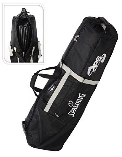 Spalding Golftasche mit Rollen schwarz