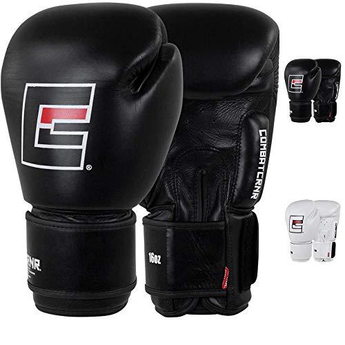 Combat Corner   Proper Thai Boxing Gloves for Men and Women   Kickboxing, MMA Training, Muay Thai and Training Gloves