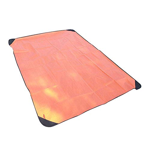 YUE Premium Emergency Multifunctional Emergency Blanket, Survival Sleeping Bag, Emergency Blanket, Thermal Insulation, Tear Resistant Polyethylene - High Visibility, Portable, Weatherproof