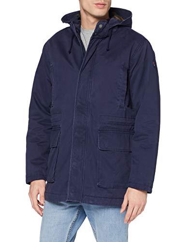 Hackett Mens HKT Cruise Parka Jacket, 595NAVY, M