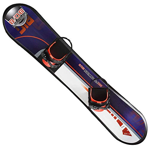 """Kids Snowboard Ages 4-15 Adjustable bindings Beginner Snow Board 95 110 126 cm Solid core Construction Outdoor Snow Toy Slider Freeride Freestyle ski Board 37"""" 43"""" 49"""" (49 Inch)"""