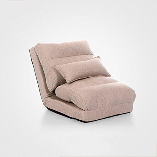 XING ZI LAZY SOFA L-R-S-F Canapé Paresseux, Canapé-lit Simple Pliable, Chambre Canapé-lit Multifonctionnel de Petite Taille (Couleur : A4)