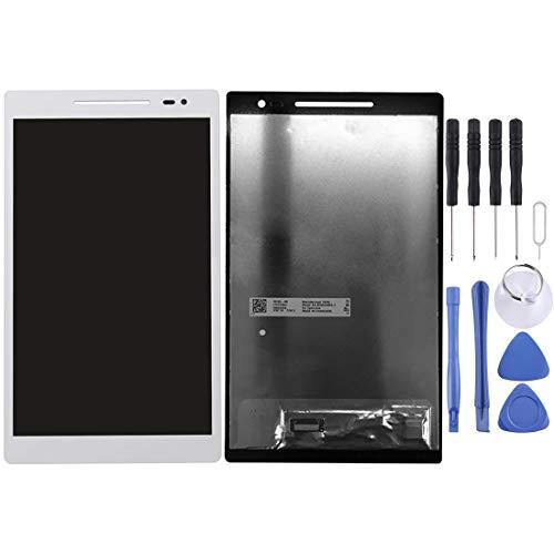 GBHGBHIT Schermo LCD e digitalizzatore Assemblaggio Completo for ASUS ZenPad 8.0 / Z380KL / P024 (Nero) (Colore : Bianca)