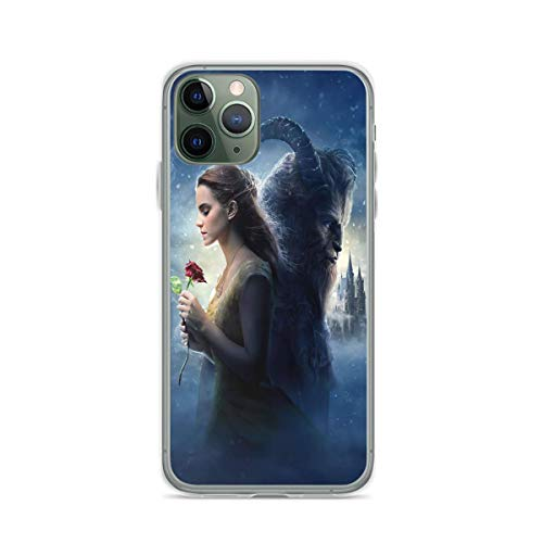 Phone Case Beauty and The Beast Compatible with iPhone 6 6s 7 8 X XS XR 11 Pro Max SE 2020 Samsung Galaxy Bumper Absorption Waterproof