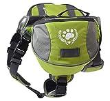 blackgoddy Hund Rucksack verstellbar Pack Satteltasche Stil Hund Zubehör für