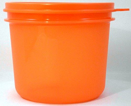1a TUPPER voorraaddoos keukenschat - SALAT SNACK & GO - 550 ml - oranje