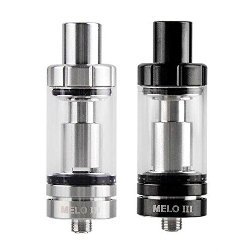 Eleaf MELO 3 Schwarz Verdampfer Atomizer Größe 4ml - Ohne Nikotin und Tabak frei
