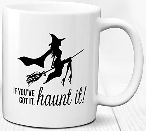 Hexe Thema Kaffeebecher Halloween Geschenk Witchy 330 ml Keramik Teetasse