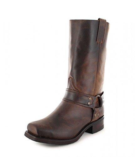 Sendra Boots Stiefel 9809 Braun Bikerstiefel mit Thinsulate Insulation