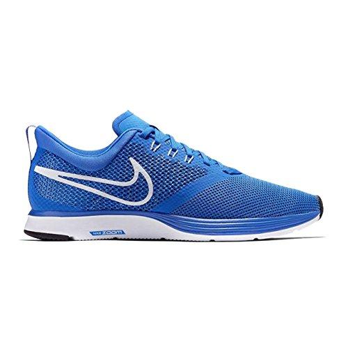 Nike Herren Zoom Strike Competition Laufschuhe, Blau - Hyper Cobalt White Photo Blau - Größe: 44.5 EU