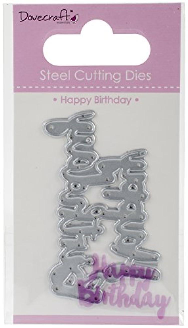 Trimcraft Happy Birthday Dovecraft Value Dies