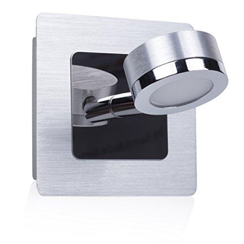 Ranex 3000.068 LED Wandleuchte für das Badezimmer / Badleuchte (3 Watt), 185 Lumen / 120° Abstrahlwinkel / warm weiß