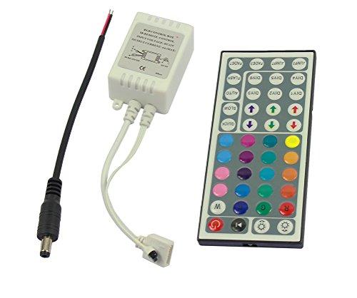 Preisvergleich Produktbild DaoRier Controller 44 Tasten Remote 44-Keys IR Control Fernbedienung Kontroller Steuerung für RGB LED Strip Streifen Strip 5050