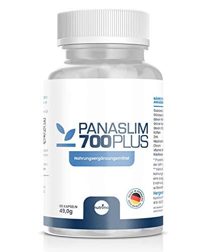 Panaslim - Das Original! | Starker STOFFWECHSELKOMPLEX | hochdosierter FATBURNER | 100% natürliche Inhaltsstoffe | Made in Germany | 60 Kapseln (1)