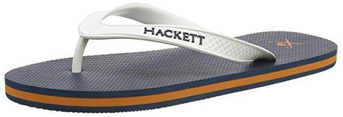 Hackett Logo Flip Flop, Chancletas Hombre, Azul (Navy), 40 EU