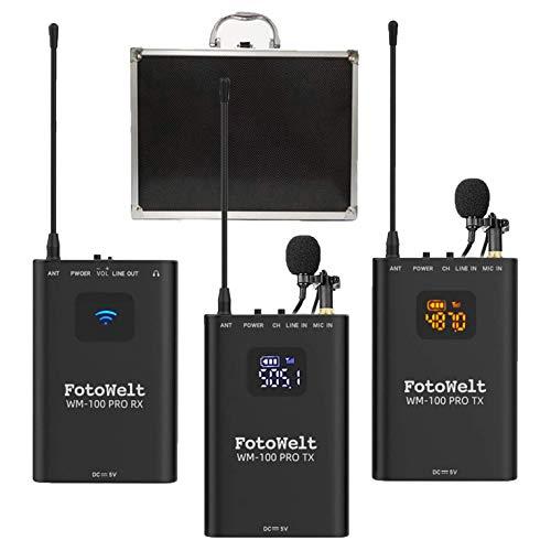 FotoWelt WM-100 Wireless Lavalier System