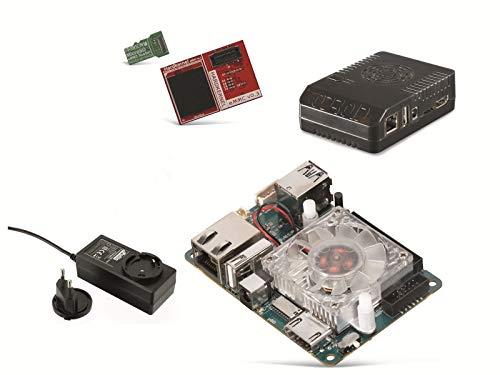 ODROID-XU4-Set mit 16GB eMMC Modul, Gehäuse und Netzteil Einplatinencomputer,Hardkernel, Mini Server, Mini PC, Server, Einplatinen Board, Selbstbau PC