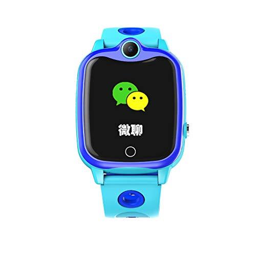 Grazioso orologio del telefono della bambina for i bambini della chiacchierata del telecomando dell orologio intelligente dei bambini con il braccialetto dell'adulto del braccialetto della figlia sicu
