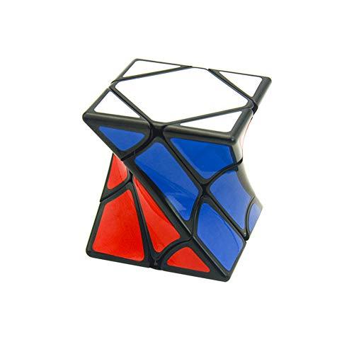 Wq zxc Cubo di Rubik 3 ° Ordine a Forma di Quadrato contorto cubo Puzzle Giocattolo Precision Card Foot più Smooth Maze Puzzle Regalo Creativo