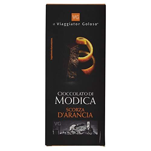 Il Viaggiator Goloso Cioccolato di Modica Scorza d'Arancia - 100 g