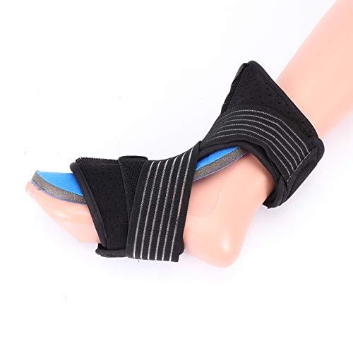EXCEART Fußknöchelbandage Fußorthese Bandage Plantarfasziitis Nachtorthese Orthesen Fuß Nachtschiene Stützorthese Fußgelenkschiene für Damen Herren