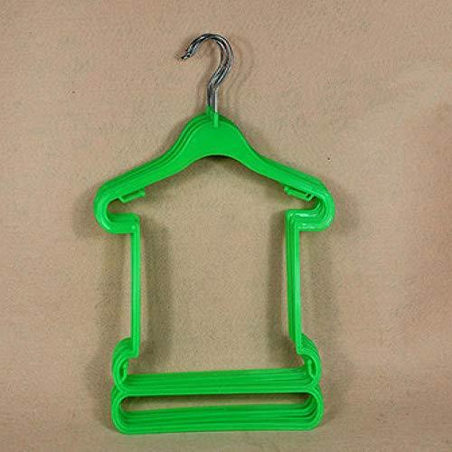 HANGER BOYA Cintre en Plastique Jetdio Petite en Plastique pour bébé, Enfants, Cintre pour Enfant (20 pièces/lot)