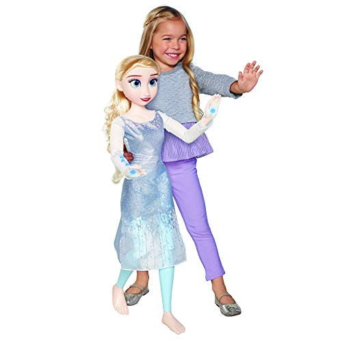 Disney Frozen 2 - 32' My Size Elsa Doll Playdate Feature Elsa Doll