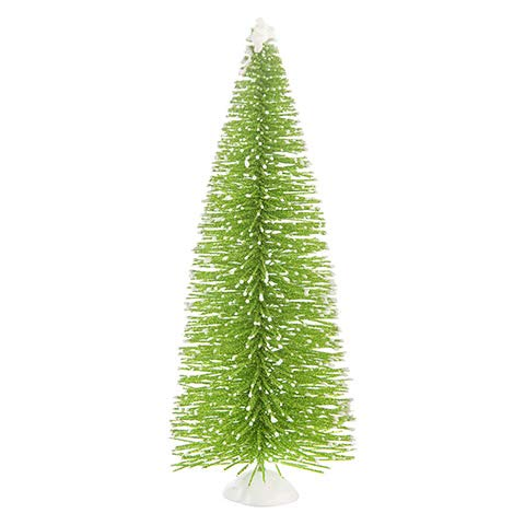 Darice Mini Green Christmas Tree with Snow: 3 x 8 inches