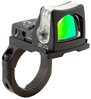 Trijicon RM05-38 RMR 9 MOA Dual-Illuminated Amber Dot Sight with RM38 Full Size ACOG Mount without Bosses
