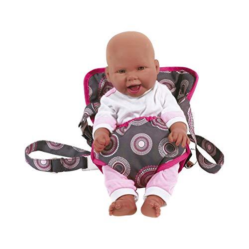 Bayer Chic 2000 782 87 Puppen-Tragegurt, Puppentrage, pink