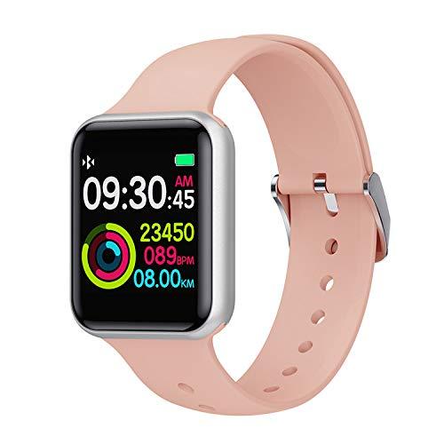 Naack Activiteitsarmband, smartwatch, waterdicht, IP68, hartslagmeter, slaapbewaking, sportarmband, stopwatch, calorieënteller, voor dames, heren, kinderen, compatibel met iOS en Android