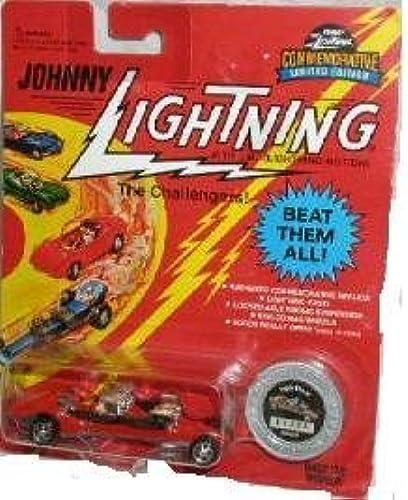 descuentos y mas JOHNNY LIGHTNING rojo TRIPLE THREAT DIECAST VEHICLE VEHICLE VEHICLE by Playing Mantis  Garantía 100% de ajuste