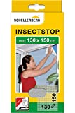 Schellenberg 50714 Mosquitera de Protección para Ventanas, Blanco, Max. 130 x 150 cm