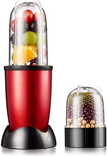 ZJDM Exprimidor eléctrico portátil, licuadora, batidora de Alimentos para bebés, trituradora de Carne, máquina multifunción para Hacer zumos de Frutas