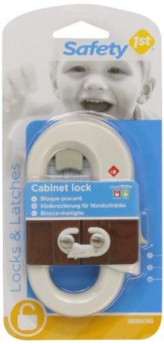 Safety 1st 39094760 - Cierre de seguridad para armarios, color blanco