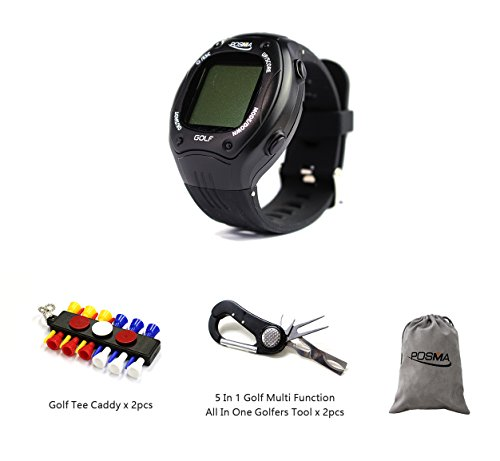 Why Choose POSMA GT1PD GT1Plus Golf Trainer GPS Golf Watch Bundle Set with 2pcs tee Caddy + 2pcs 5 in 1 Golf Multi Function All in One Golfers Tool + 1pc Flannel Storage Bag