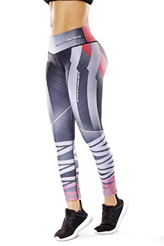 Shape Concept Colombian Workout high Waisted Leggings for Women | Compression Tight Crossfit Yoga Pants Many Styles (SCL006)
