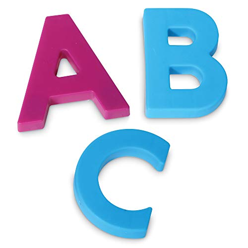 Learning Resources Jumbo Magnetic Uppercase Letters, ABCs, Early Letter Recognition, 40-Pieces, Large Magnetic Letters, Assorted Colors, Ages 3+ Photo #5