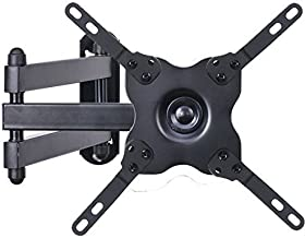 "VideoSecu TV Wall Mount Monitor Bracket with Full Motion Articulating Tilt Arm 15"" Extension for Most 27"" 30"" 32"" 35"" 37"" 39"" 42"" LCD LED TVs, Some Models Up To 47"" with VESA 200x200 WS2"
