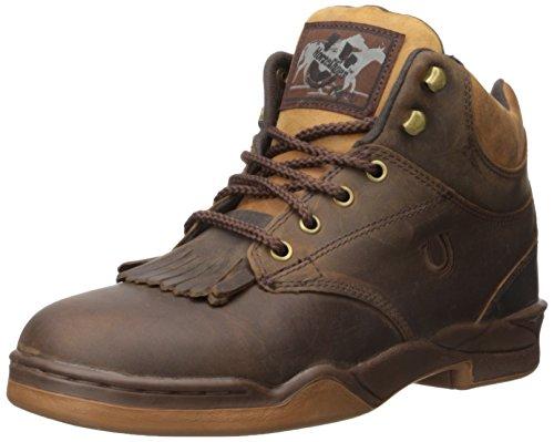 Roper mens Horseshoe Walking Shoe, Brown, 10.5 US