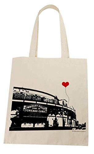 Wrigley Field Chicago Cubs Lightweight Tote Bag