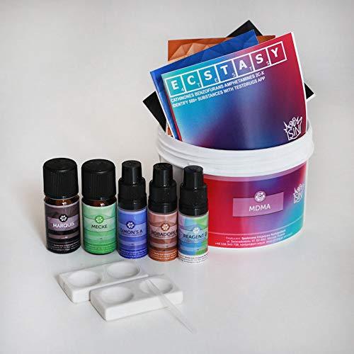 MDMA Reagent Test Kit (Marquis + Mecke + Simon's + Robadope) (10 ml)