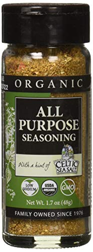 Gourmet Celtic Sea Salt Organic Lemon Pepper Seasoning Shaker – Delicious, Bold Lemon Pepper Sea Salt Adds Flavor to a Variety of Dishes, Hand Crafted and Organic, 1.8 Ounces