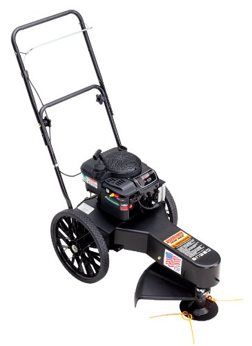 Review Of Swisher DST67522BS Wheeled String Trimmer, Deluxe