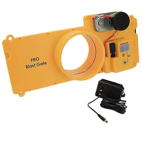"""iVAC PBG04 4"""" Pro Blast Gate for Automated Dust Collection"""
