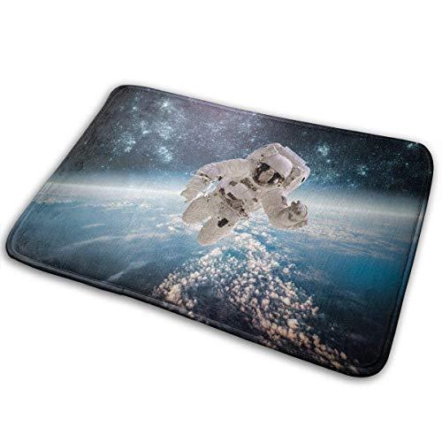 EU Klassisches Sonnensystem Schema Fußmatte Wasserabsorbierende Badezimmerteppiche Badematten 60 x 40 cm / 24 x 16 Zoll