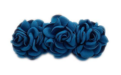 Barrettes de cheveux à motif Flower and Bowknot pour femmes